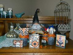 Get ready for Halloween using a group of items from Stampin' UP! See my blog for details! Happy Crafting, Dee