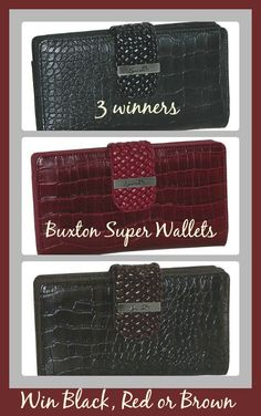 3 #winners for Buxton Everglades Super Wallet!!