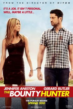 #Exposados (2010). Dir: Andy Tennant; Int: Jennifer Aniston, Gerard Butler y Christine Baranski.