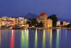 Aegina island, had a nice walk along this strip last night!
