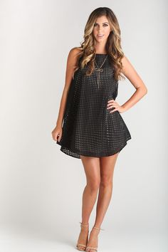 Morning Lavender, chic, black, gingham checker dress, fun and flirty dresses, date night outfit