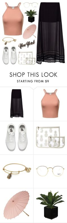 """""""Lovely Sunshine"""" by lysianna on Polyvore featuring Mode, Tuesday Night Band Practice, Vans, Echo Design, Alex and Ani und Ray-Ban"""