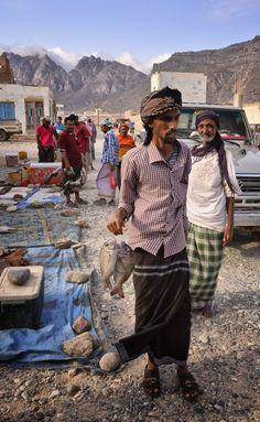 Fish Market . Socotra Island . Yemen