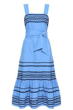 Vestido Midi - Vestido Midi Linho Penélope Azul | Amissima Cute Dresses, Beautiful Dresses, Casual Dresses, Short Dresses, Fashion Dresses, Summer Dresses, Classy Outfits, Cute Outfits, Casual Outfits