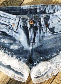 The Daisy Short,  Bottoms, Denim Shorts, Bohemian (Boho) / Hippie