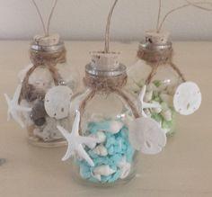 beach decor beach christmas ornament coastal decor nautical decor christmas ornament shell ornament beach ornament