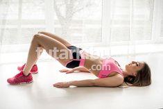 Belly Melting 5 Exercises Everyone Can Do Bridge Workout, Pilates, Crochet, Detox, Fitness Models, Bodybuilding, Fitness Motivation, Health Fitness, Ale