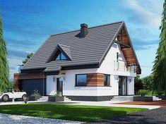Home Building Design, Building A House, House Outside Design, House Design Pictures, Modern Villa Design, Sims House Design, Modern Style Homes, House Paint Exterior, Facade House