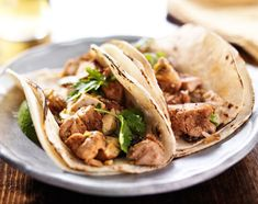 Dinner Recipe:  Chicken Tacos From the Grill