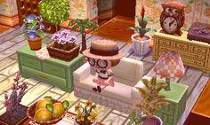 Animal crossing house decor inspiration