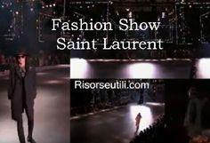 Fashion show Saint Laurent fall winter 2016 2017 menswear