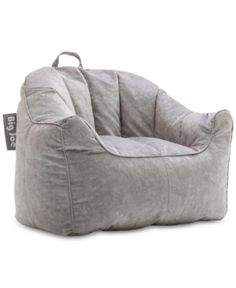 The sleek style of the Big Joe Milano Bean Bag Chair comes in your choice of color to match your unique style. This bean bag chair has stain- and water-resistant.