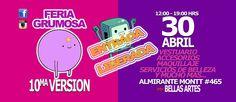 10ma Feria Grumosa 2016 - Santiago de Chile, 30 de Abril 2016 ~ Kagi Nippon He ~ Anime Nippon-Jin