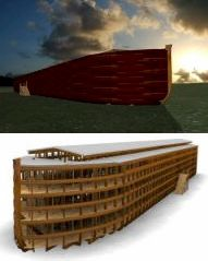 The 3D Bible Project of Noah's Ark