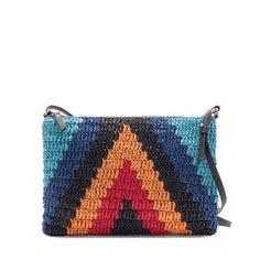 Bag from Zara Diy Crochet Patterns, Tapestry Crochet Patterns, Crochet Quilt, Crochet Clutch, Crochet Handbags, Crochet Purses, Crochet Bags, Tribal Bags, Bags Travel