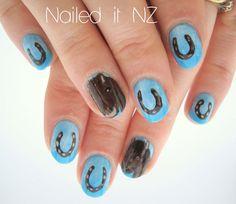 Horseshoe and horses r best on nails