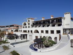Beautiful blue skies at Secrets Puerto Los Cabos, the perfect adults-only vacation destination!