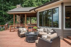 A resort-worthy dream home on Signal Mountain in Tennessee.