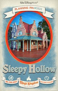 Walt Disney World Planning Pins: Sleepy Hollow