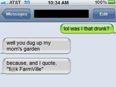 19 of the best 'I wasn't that drunk!' texts