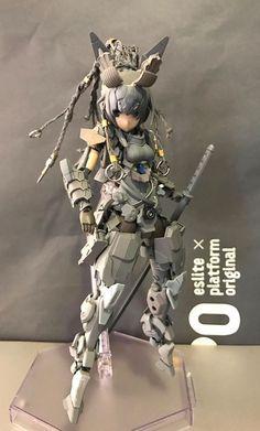 林擒之庭  Frame Arms Girl-JINRAI KOTOBUKYA http://lesupervises.blogspot.tw/