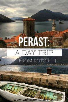 A little way outside of the town of Kotor, but still situated on the Bay itself, Perast has all the charm and quaintness of a little French town. #perast #montenegro #guide