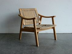 SALE Vintage Danish Style Mid Century Modern Lounge Chair by CoMod, $99.00