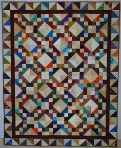 The Double Nickel Quilt Challenge: Criss Cross Stars done and contest