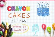 Download Crayon Cakes  @creativework247