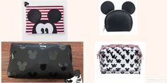 5f6e057bf5 Image result for Disney Mickey Mouse   Friends Vintage Mickey Ear Round Top  Cosmetic Bag