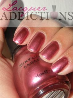 Dancing Nails - Sinful Colors #nailcolour