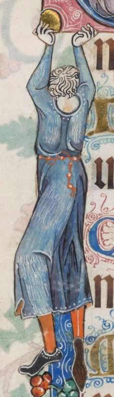 Psalter ('The Luttrell Psalter') with calendar and additional material 1325-1340 Add MS 42130 Folio 16v