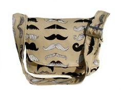 Mustaches Rock! Diaper Bag