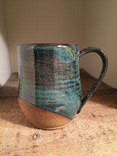 Large mug. Palladium over blue rutile
