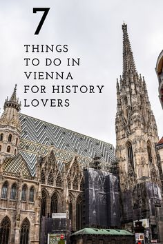 Seven things to do for history and culture lovers in Vienna, Austria by luxury food, lifestyle and travel blogger Angie Silver