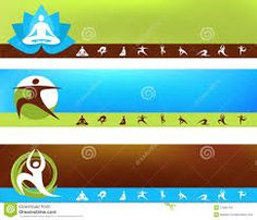 a Set of Vector Banner Templates Yoga Theme picture - part of our huge selection of professional quality pictures at very affordable prices - Banner Template, Web Banner, Yoga Themes, Theme Pictures, Newsletter Templates, Print Design, Google Search, Fitness, Print Layout