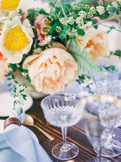 Photography: Sally Pinera   sallypinera.com Floral Design: Poppy Design Co.   poppydesignco.com/http://poppydesignco.com/ Venue: Los Olivos   www.losolivosca.com/   View more: http://stylemepretty.com/vault/gallery/35655