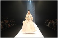 Jo Myungrye is an Korean haute-couture designer that is gaining popularity.