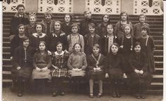German Girls' School Postcard, Vintage Postcard, Correspondence,1927 Postmark, German Stamps, Philadelphia Pennsylvania, Group Photograph by BettywasaBombshell on Etsy https://www.etsy.com/listing/228518170/german-girls-school-postcard-vintage