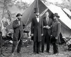 Foto d'epoca Abraham Lincoln