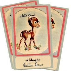 Custom bookplates - print on stickers... lovely idea for a baby book shower or a wedding with a book theme