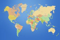 World map free large images maps pinterest wallpaper download free world map wallpaper high resolution 1920x1080 for mac gumiabroncs Images