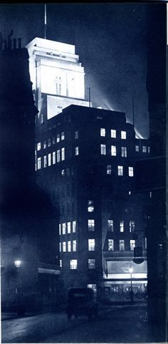 Dark City: London in the 30s Pictures from London Night – John Morrison and Harold Burked in 1934