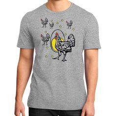 Roseanne Chicken District T-Shirt (on man)