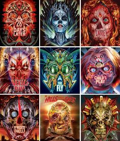 Horror Icons, Horror Films, Horror Art, Scary Movies, Good Movies, Awesome Movies, Horror Photos, Horror Movie Characters, Stoner Art
