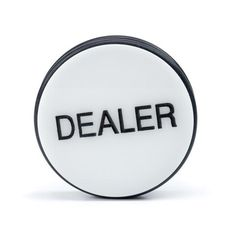 3 Inch Dealer Puck Engraved Casino Quality - Casino Supply - 1