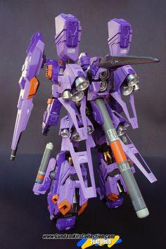 Custom Build: MG 1/100 RGZ-95-C ReZEL II - WILLBREAKER