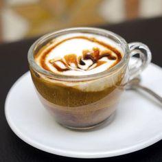 Café latte caramel