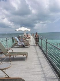 We'd love to lounge here everyday in key west, beachfront tanning