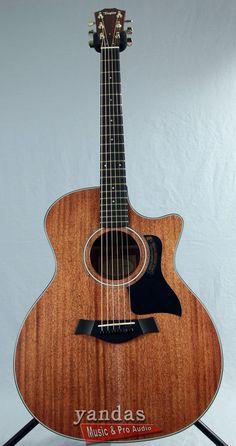 Taylor 324ce Grand Auditorium Acoustic-Electric Guitar